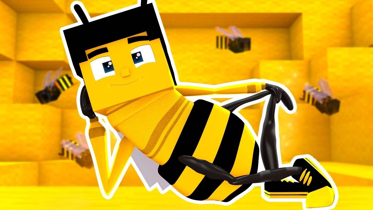BEE MOVIE IN MINECRAFT ? YouTube