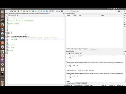 Python for Engineers - Functions