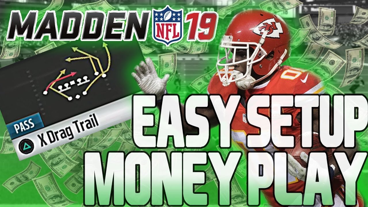 EASIEST MADDEN 19 MONEY PLAY!!! 1 PLAY TOUCHDOWN • EASY SETUP