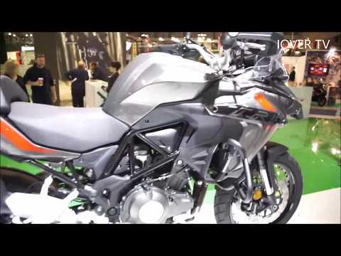 NEW Benelli TRK 502 X - EICMA 2017