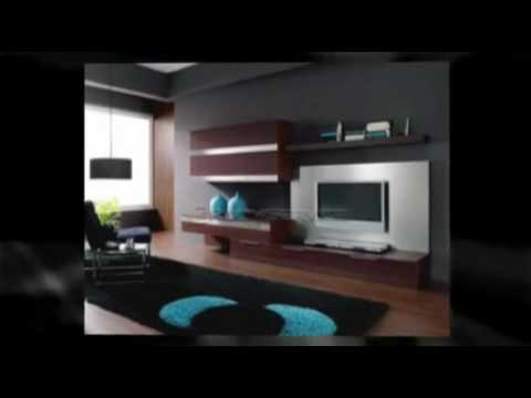 Modern Wall Units   Designer Modern Furniture   YouTube