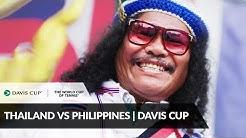 Thailand vs Philippines: World Group II Recap   This is #MyCourt   Davis Cup