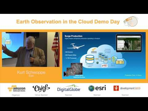 Earth Observation in the Cloud Demo Day | ArcGIS for Earth Observation in the Cloud