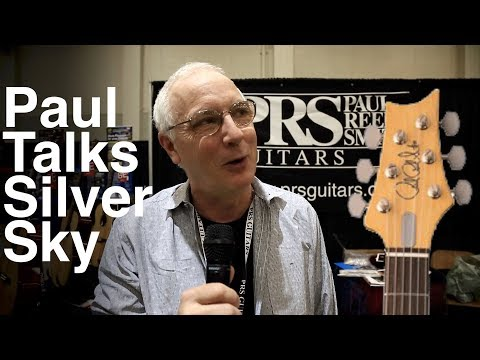 Paul Reed Smith at Tacoma Guitar Fest Talks Silver Sky
