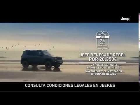anuncio jeep renegade rebel 2017 - youtube