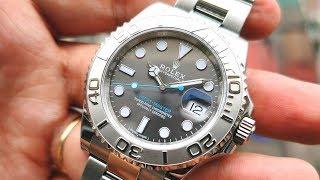 [Trẻ Trung] Rolex Yacht Master 40mm Dark Rhodium 116622RSO   ICS Authentic