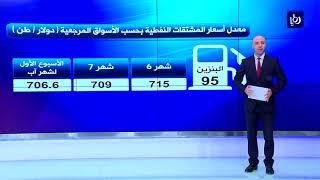 تراجع معدل أسعار برنت والمشتقات النفطية في الأسبوع الأول لشهر آب - (6-8-2018)