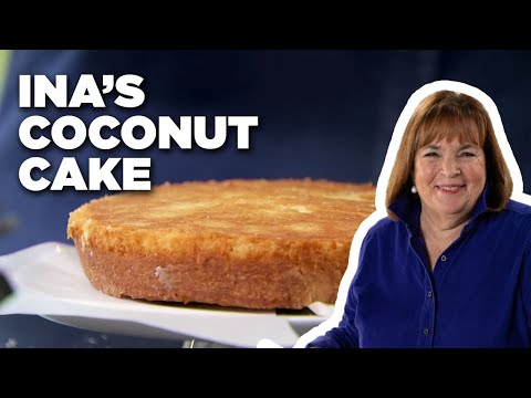 How To Make Ina's Coconut Cake | Food Network