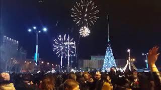 Краснодар.Театральная площадь.  Новый 2018 год