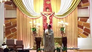May 12, 2018 The Ascension of the Lord  Rev. Bao Thai  Saint Cecilia Catholic Tustin California USA