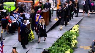 Georgia Tech Fall 2014 Commencement Bachelor's Ceremony Fall 2014