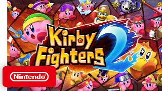Kirby Fighters 2 - Launch Trailer - Nintendo Switch