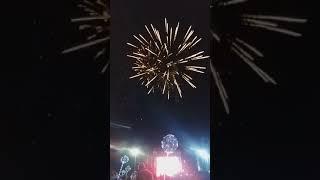 Фейерверк на день города. Южноуральск 11.08.2018