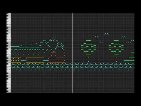 MIDI Drawing no. #6 - Railway tracks