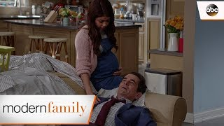 Haley Comforts Phil – Modern Family