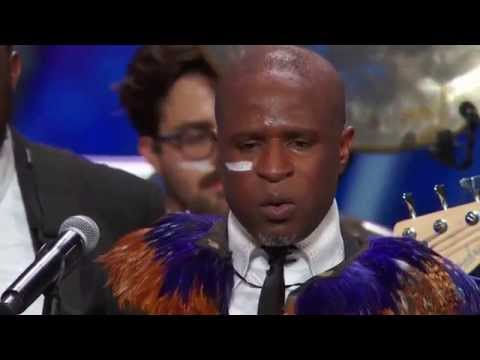 America's Got Talent - Alex Boye Audition (Judges Awesome Responses)
