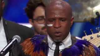 Repeat youtube video America's Got Talent - Alex Boye Audition (Judges Awesome Responses)