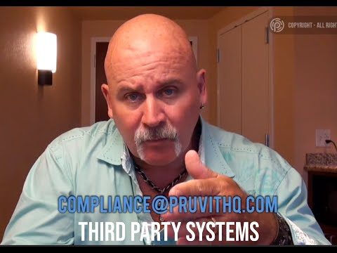 Compliance: 3rd party systems