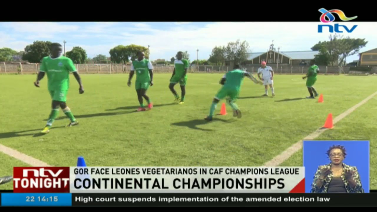 Gor Mahia face Leones Vegetarianos in CAF champions league