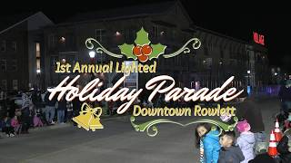 1st Annual Lighted Holiday Parade - December 8