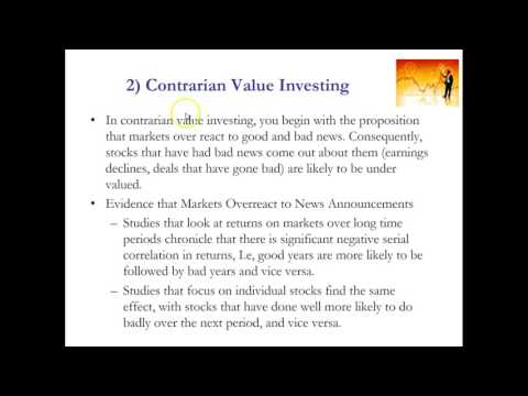 Contrarian investing