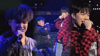 [풀버전] 이미쉘 vs 장기용, 제대로 즐기는 미친 무대 '붐벼'♪ 힙합의 민족2 7회