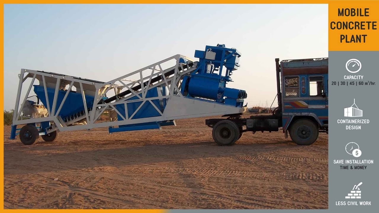 Cement Ready Mix Plant : Concrete batching plant ready mix machine mobile batch