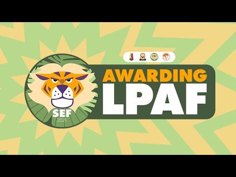 Awarding LPAF 2021