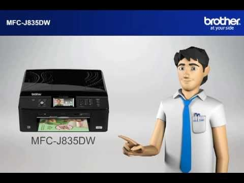 BROTHER MFC-J835DW PRINTER DRIVER FOR WINDOWS DOWNLOAD