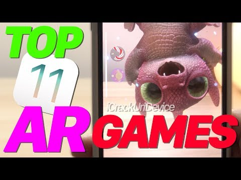 BEST 11 Top iOS 11 Games, Augmented Reality, AR Apps (ARKit Pt2)