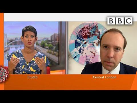 How Does Test And Trace Work? @BBC Breakfast Asks Matt Hancock - Coronavirus (Covid-19) - BBC