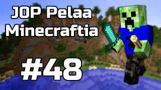 J0P Pelaa Minecraftia - Strongholdin uumenissa! | Osa 48