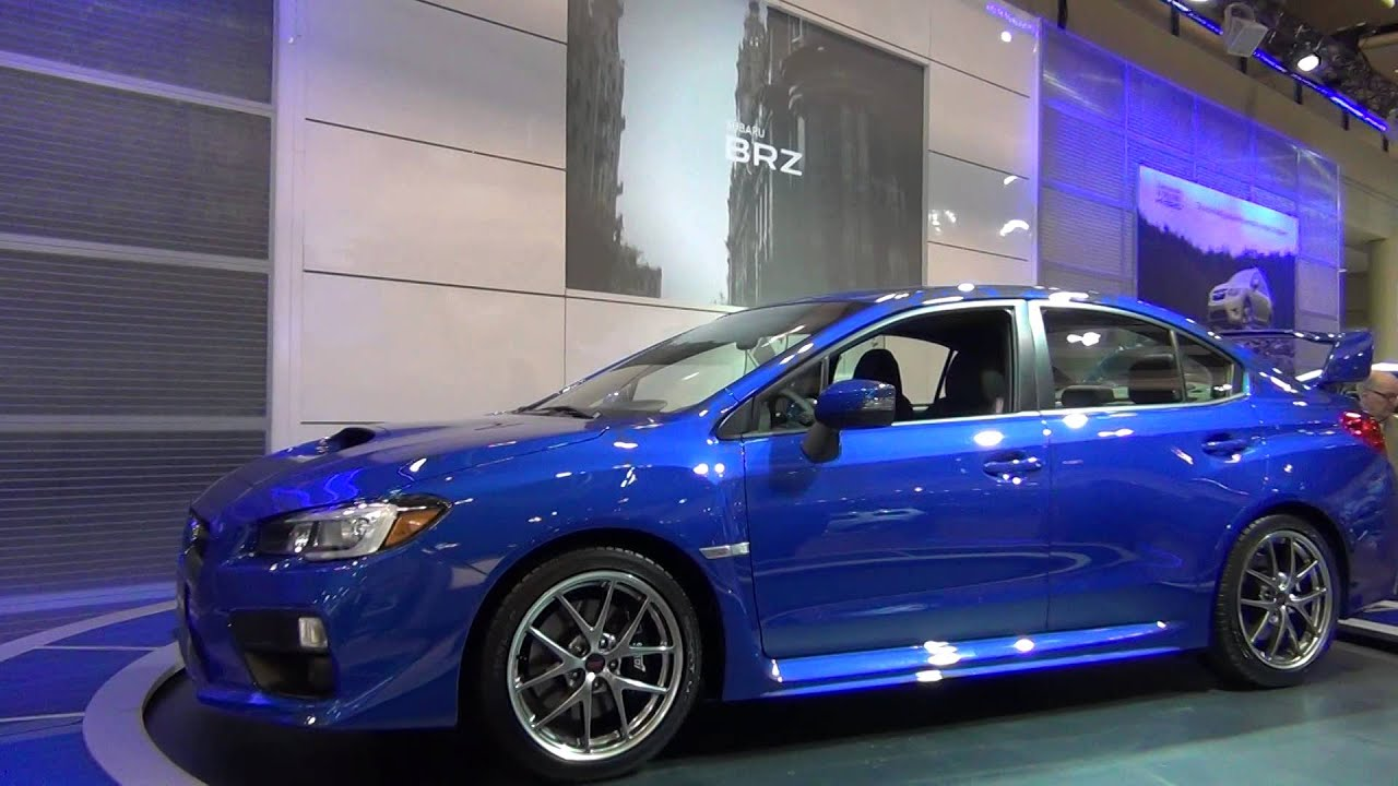 Motrface Com 4th Generation 2015 Subaru Wrx Sti World