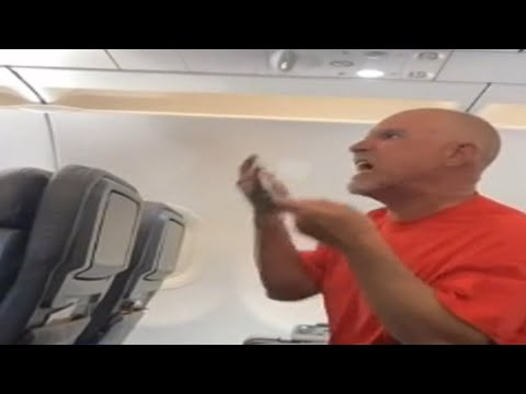Real Zombie on a Plane