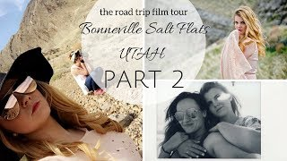 Bonnevile Salt Flats, UT - Road Trip Film Tour VLOG (2/3)