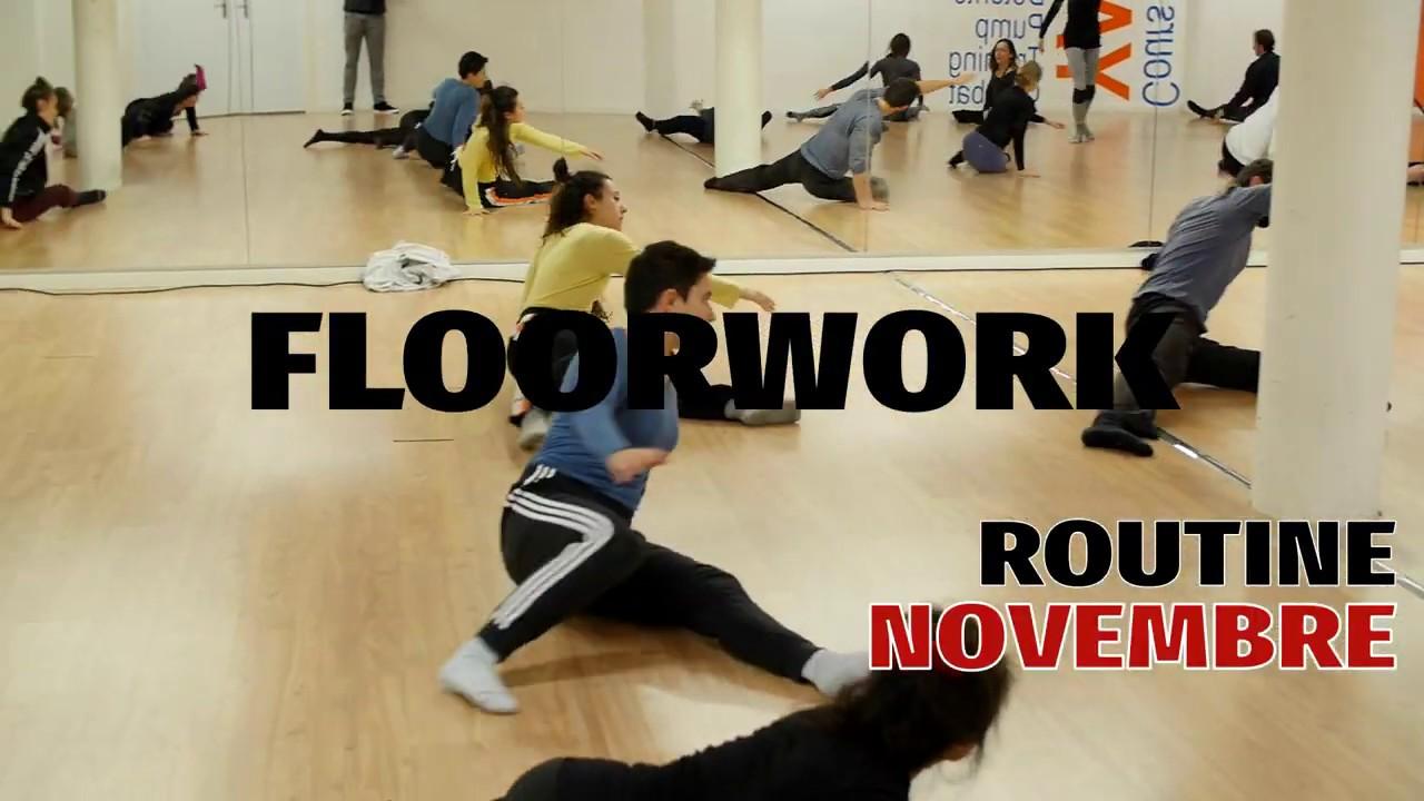 🇫🇷 Floorwork Tuto - Sequence Novembre - Partie II (en FR)🇫🇷
