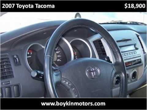 2007 Toyota Tacoma Used Cars Smithfield Nc Youtube