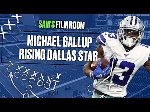 [OC] Film Breakdown: How Michael Gallup has developed in Cowboys' offense | I tracked his 113 targets detailing his route running and how he's improved since entering the NFL (11:46)