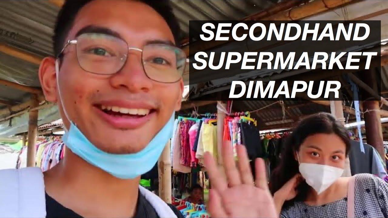 Secondhand shopping in Supermarket, Dimapur