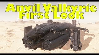 Star Citizen | Anvil Valkyrie First Look & Tour