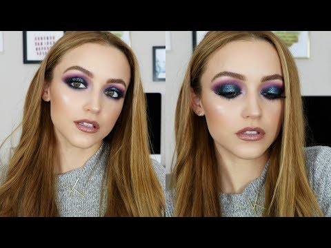 Download Youtube: Purple & Blue Glitter | Makeup Tutorial