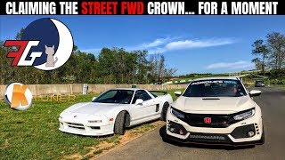 Civic Type R (FK8) Street FWD King! (For a moment) | #GridLife Shenandoah Track Battle 2