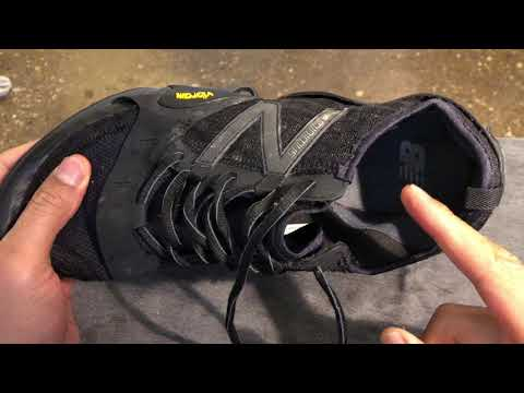 New Balance Minimus - How to Clean