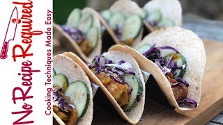 Review of Purple Carrot's Tempeh Tikki Masala Tacos - NoRecipeRequired.com