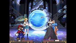 MUGEN Request #33: Kirino & Super Mario Vs Kuroyuhime & Chun-Li