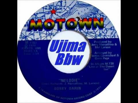 BOBBY DARIN - Melodie - MOTOWN RECORDS - 1970
