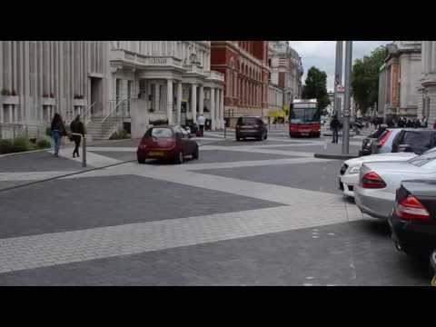 Exhibition Road, Shared Space, Kensington and Chelsea, London