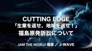 #jamtheworld 「生業を返せ、地域を返せ!」福島原発訴訟について 20170321 #jwave