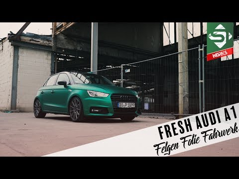 Sidney Industries | how to make a AUDI A1 look good | Felgen, Folie, Fahrwerk