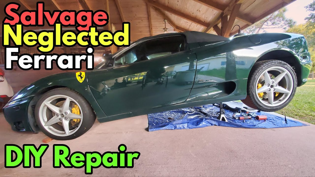 The Ferrari Dealer wanted $8,000 to Replace my Clutch; here's how I did it at home for $1,200